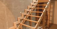 лестницы, мебель, интерьеры На деревянном каркасе