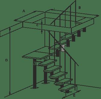 лестницы, мебель, интерьеры Характеристики лестницы