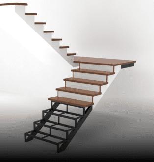 калькулятор лестницы на металлокаркасе