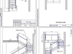 Мистолово чертеж лестницы