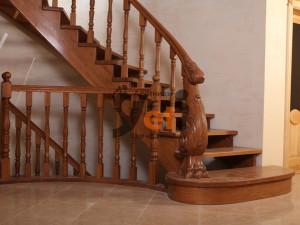 Фото лестницы, изготовленной по проекту Сестрорецк