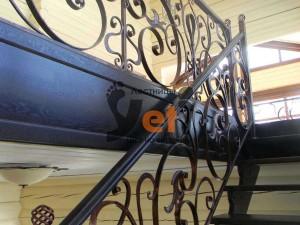 Проектировние винтовой спиральной лестницы в Озерном