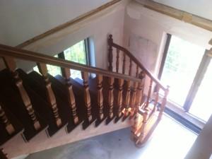 Фото лестниц, представленных в Комунарах