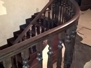 Проектирование дубовой лестницы в Володарском