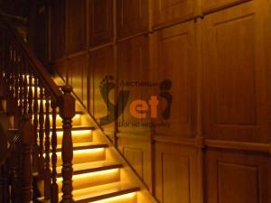 Проектирование лестницы со светодиодной подсветкой