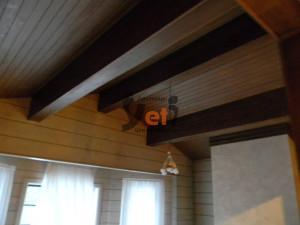 Стеновые панели из массива дерева буазери