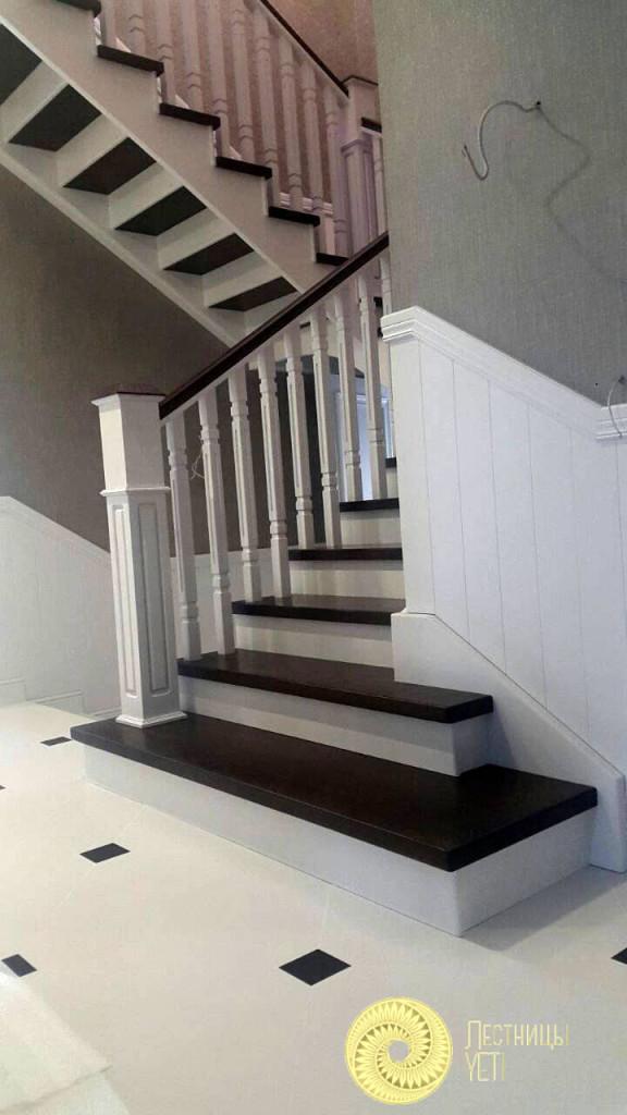 английская лестница с площадками