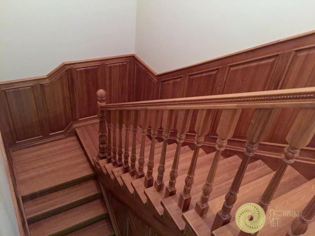 Ограждения Grande Forge с деревянным поручнем лестницы, мебель, интерьеры