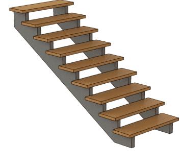 калькулятор лестницы Косоур