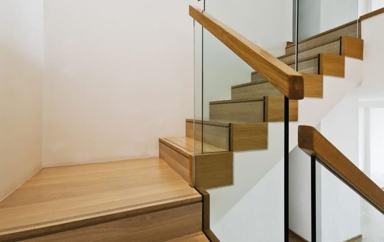 калькулятор лестницы Ограждение стекло 2
