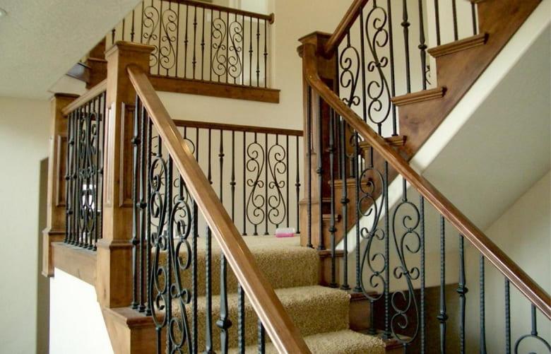 калькулятор лестницы Ограждение металл 2