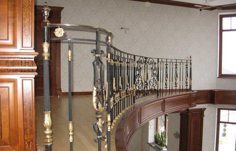 калькулятор лестницы Ограждение металл 3