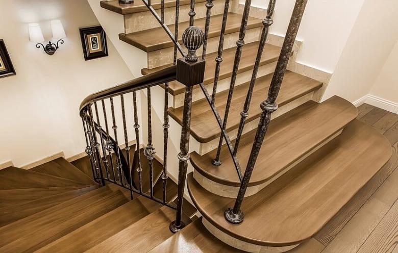 калькулятор лестницы Ограждение металл 4