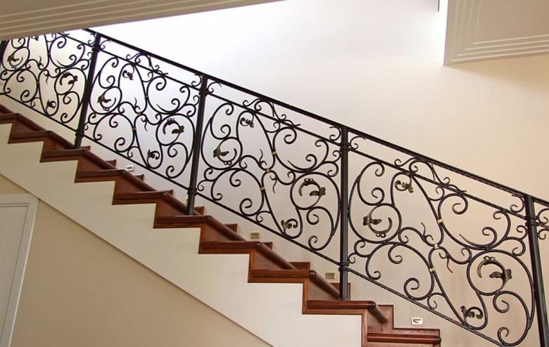 калькулятор лестницы Ограждение металл 5