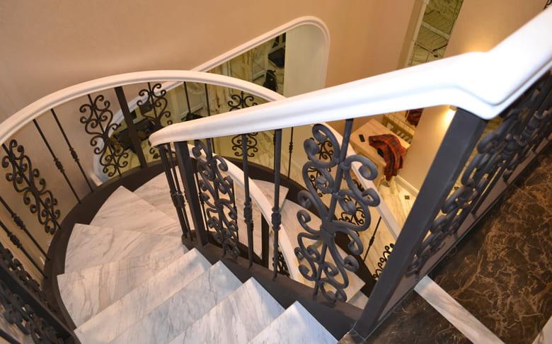 калькулятор лестницы Ограждение металл 6