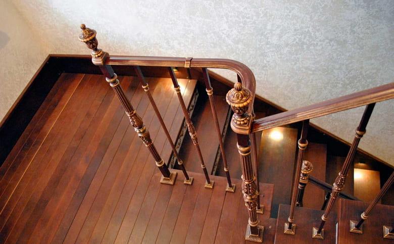 калькулятор лестницы Поручень металл 1