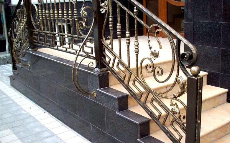 калькулятор лестницы Поручень металл 2