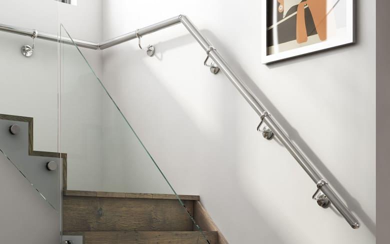 калькулятор лестницы Поручень металл 3