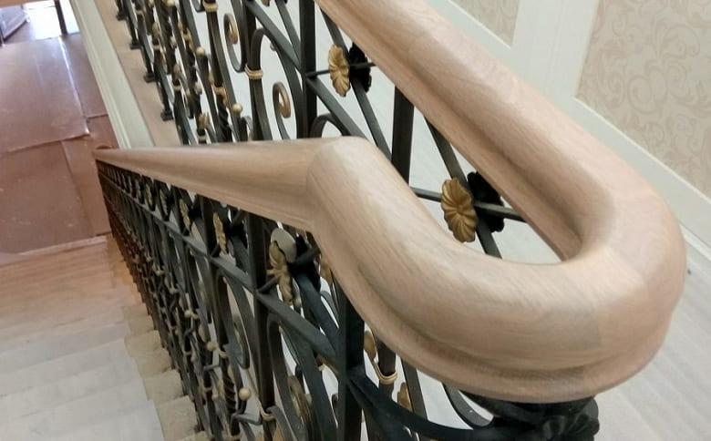 калькулятор лестницы Поручень дерево 3