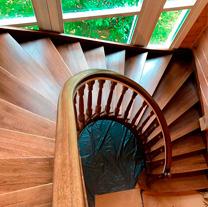 лестницы, мебель, интерьеры деревянные лестницы