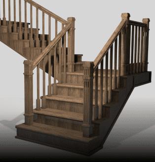 калькулятор лестницы деревянная