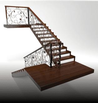 калькулятор лестницы монолитная