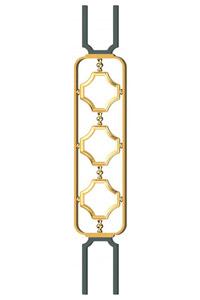 французские перила для лестниц grande forge Серия Forge Латунь - 28